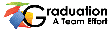 Graduation: A Team Effort Logo