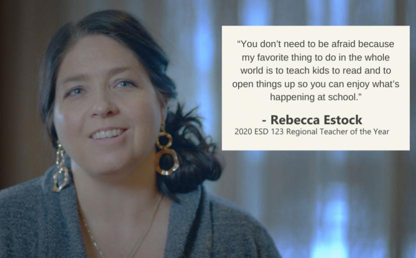 2020 Regional Teacher of the Year Rebecca Estock Image