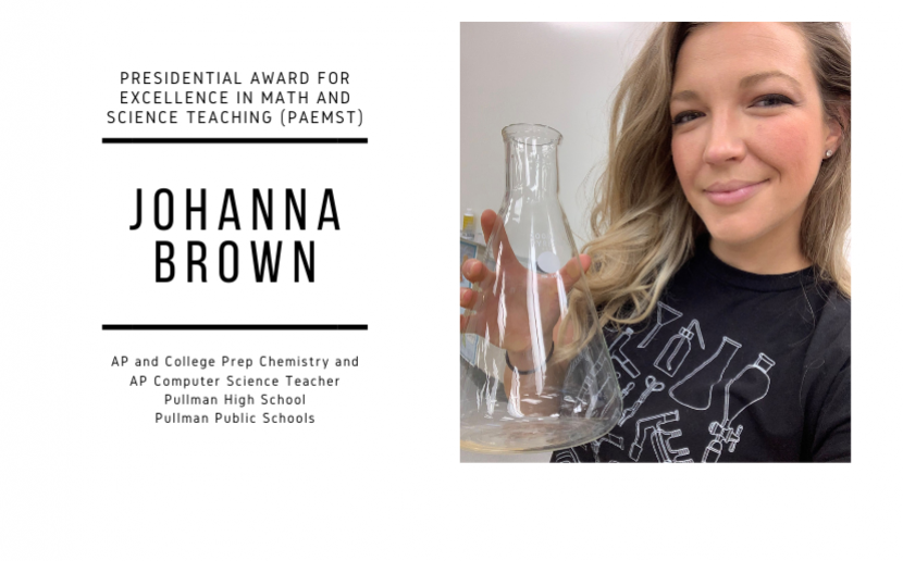 Johanna Brown, Washington PAEMST Finalist