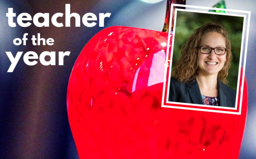 Teacher of the Year Amy Campbell