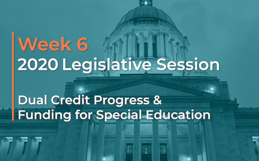 Week 6 Leg Session Video: Dual Credit Progress & Special Education Funding